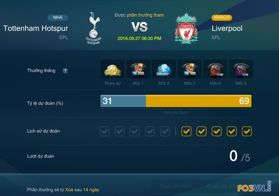 match up mode fifa online 3